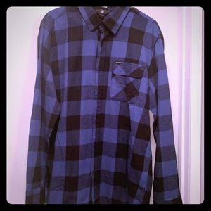 Volcom flannel shirt